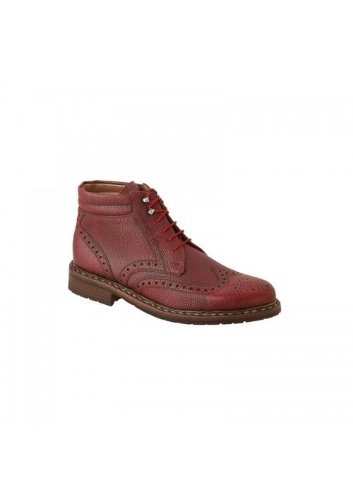 Heinrich Dinkelacker Buda Boot rosso