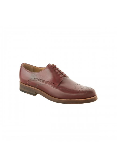 Heinrich Dinkelacker Paris Full Brogue bordo