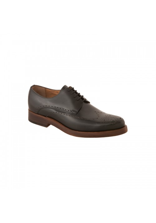 Heinrich Dinkelacker Paris Full Brogue schwarz