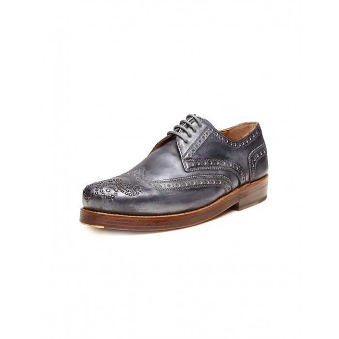 Heinrich Dinkelacker Rio Full Brogue blau
