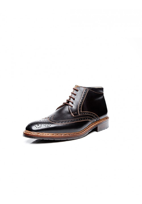 new collection Heinrich Dinkelacker Luzern Boot Cordovan black