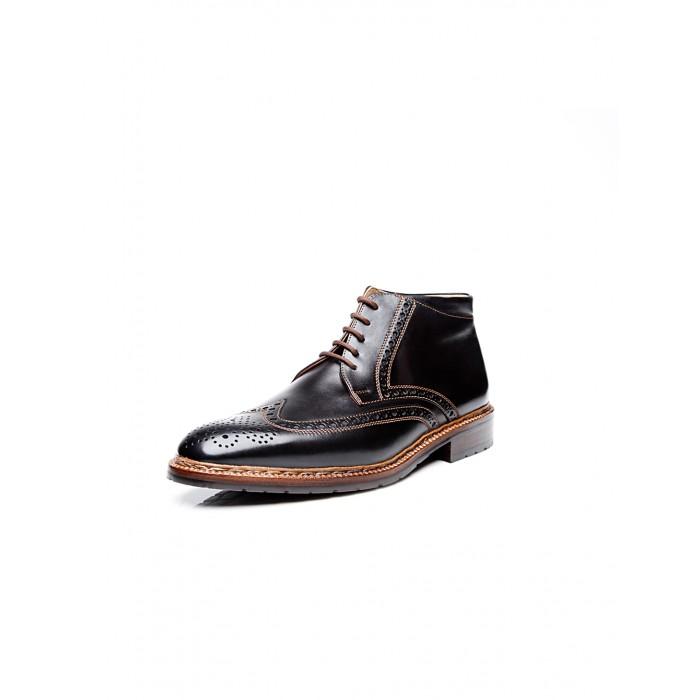 new collection Heinrich Dinkelacker Luzern Boot Cordovan black