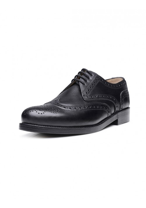 Heinrich Dinkelacker Zürich Full Brogue black