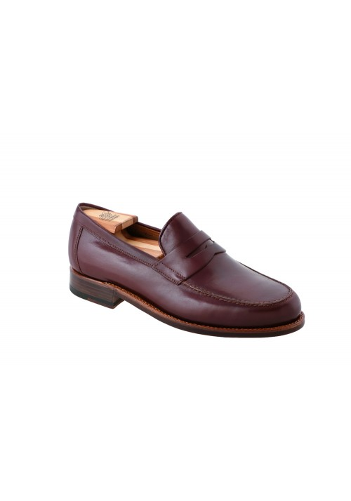 new collection Heinrich Dinkelacker Wien Pennyloafer dark brown