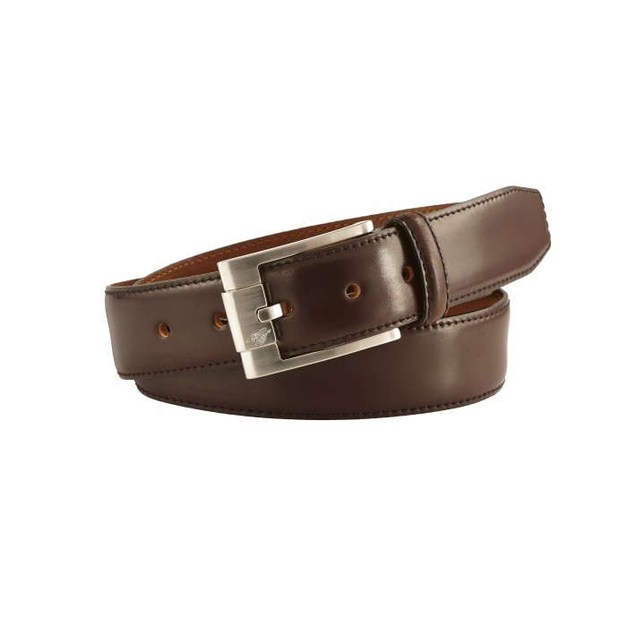 Heinrich Dinkelacker Shell Cordovan belt oxblood