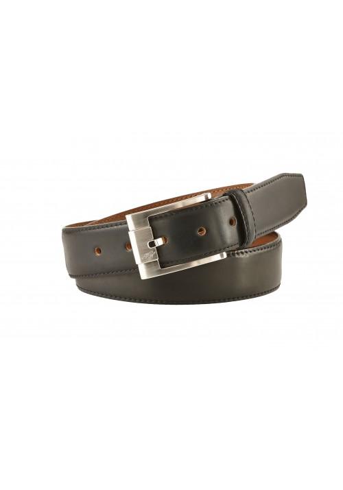 Heinrich Dinkelacker Shell Cordovan belt black