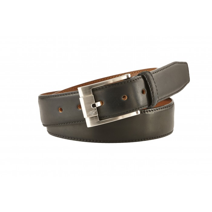 Heinrich Dinkelacker Shell Cordovan belt black