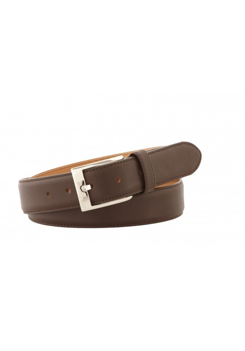 Heinrich Dinkelacker belt softcalf marrone