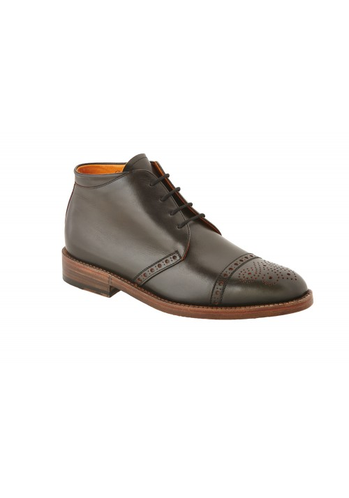 Heinrich Dinkelacker Luzern Boot black/orange