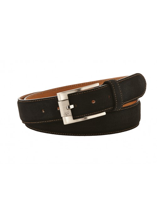 Heinrich Dinkelacker belt suede black