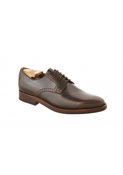 new collection Heinrich Dinkelacker Milano plain Cordovan darkcognac