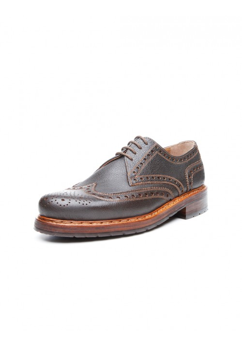 Heinrich Dinkelacker Rio Full Brogue darkbrown