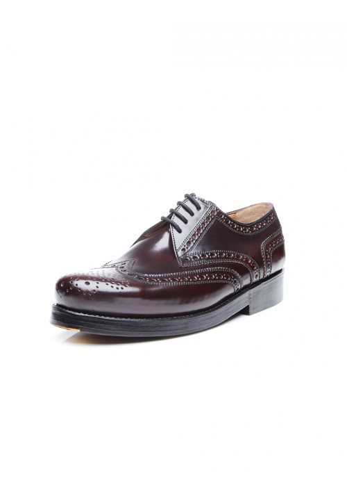 Heinrich Dinkelacker Rio Full Brogue Cordovan Oxblood