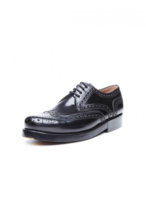 Heinrich Dinkelacker Rio Full Brogue Cordovan black