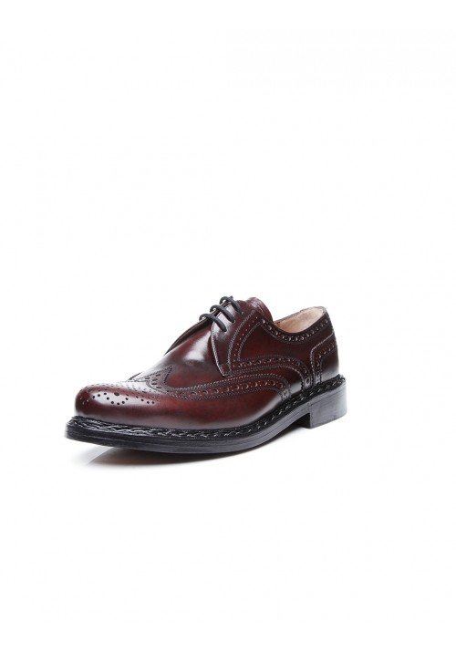Heinrich Dinkelacker Buda Full Brogue bordo