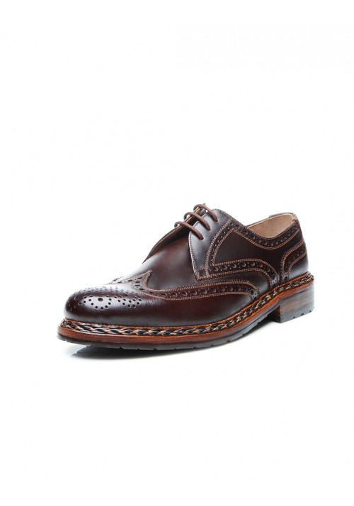 Heinrich Dinkelacker Buda Full Brogue Mocca