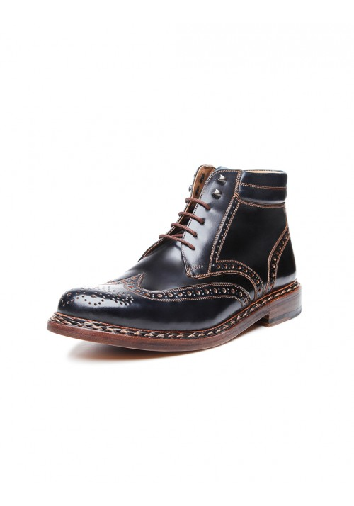 new collection Heinrich Dinkelacker Buda Boot Cordovan black