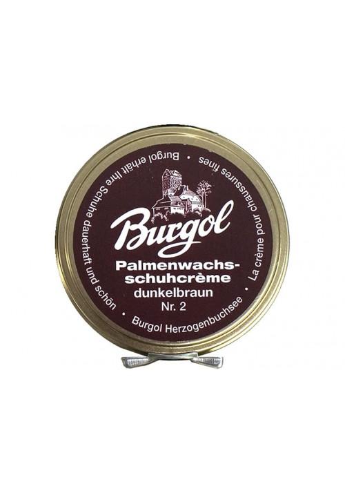 Burgol Palmenwachsschuhcrème Dunkelbraun