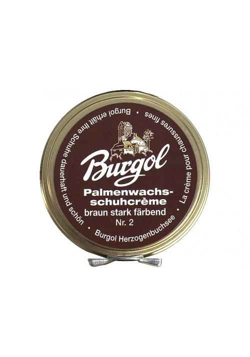 Burgol Palmenwachsschuhcrème Braun
