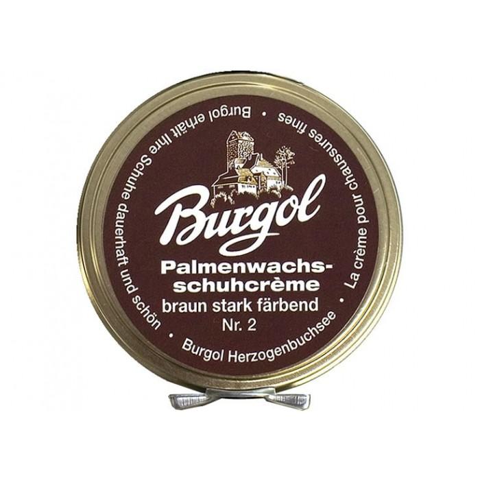 Burgol Palm Wax Shoe Polish brown