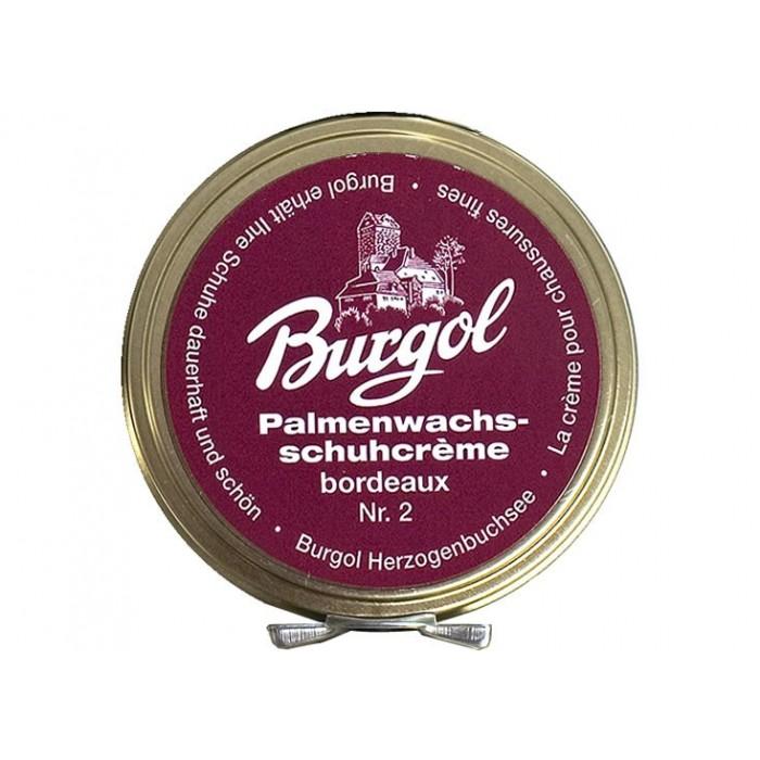 Burgol Palmenwachsschuhcrème Bordeaux