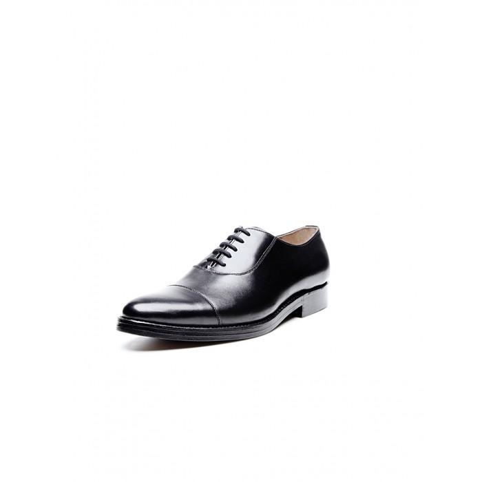 new collection Heinrich Dinkelacker Milano Cap Toe black