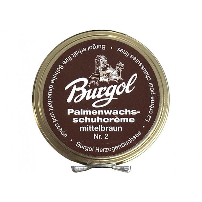 Burgol Palmenwachsschuhcrème Mittelbraun