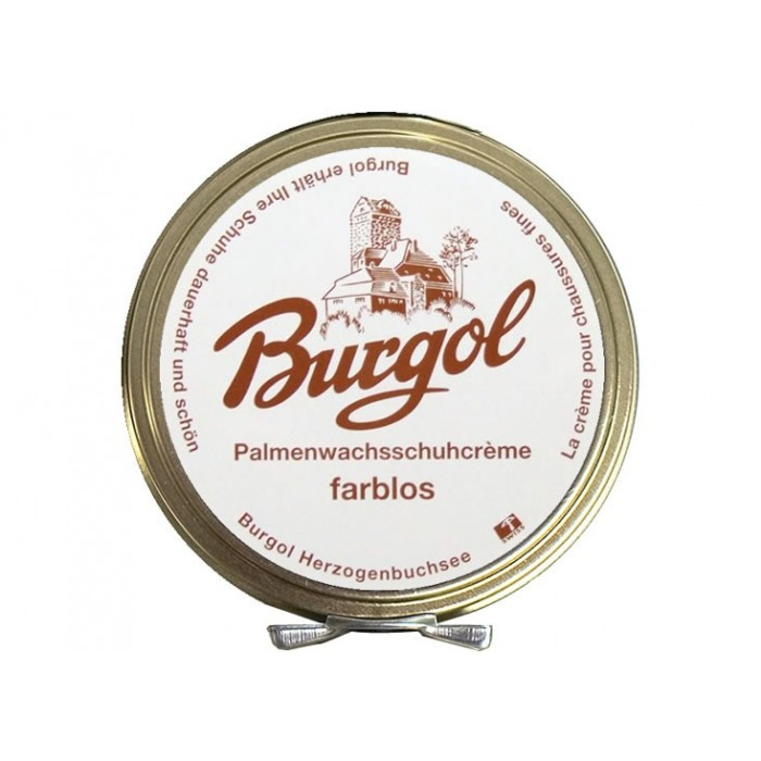 Burgol Palmenwachsschuhcrème Farblos
