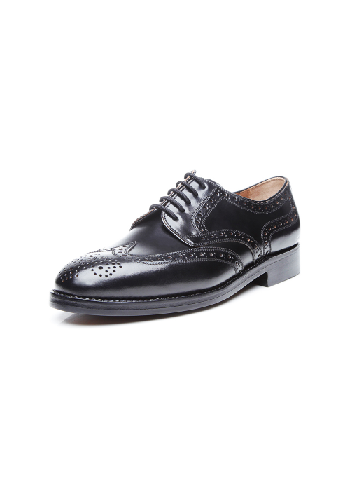 Heinrich Dinkelacker London Full Brogue Cordovan black