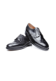 Heinrich Dinkelacker London Full Brogue Cordovan schwarz