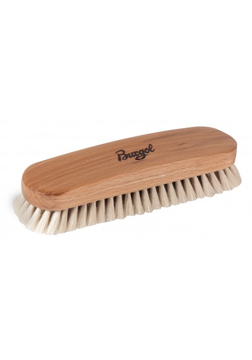 Goat's Hair Shoe Brush white