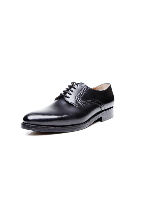 new collection Heinrich Dinkelacker Milano plain Cordovan black