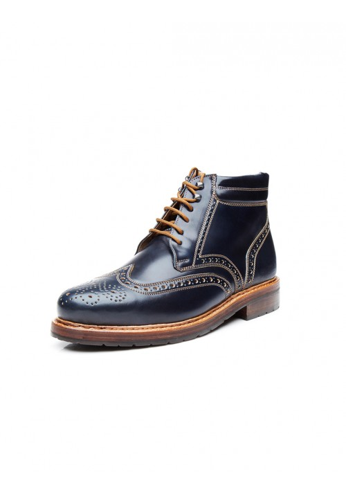 new collection Heinrich Dinkelacker Buda Boot Cordovan navy