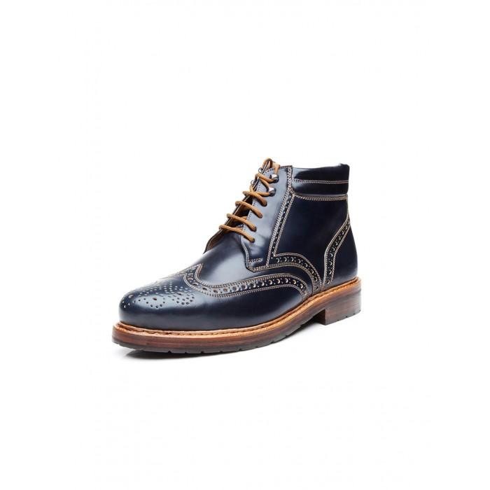 new collection Heinrich Dinkelacker Buda Boot Cordovan navy