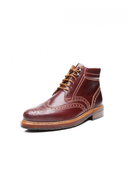 new collection Heinrich Dinkelacker Buda Boot Cordovan oxblood