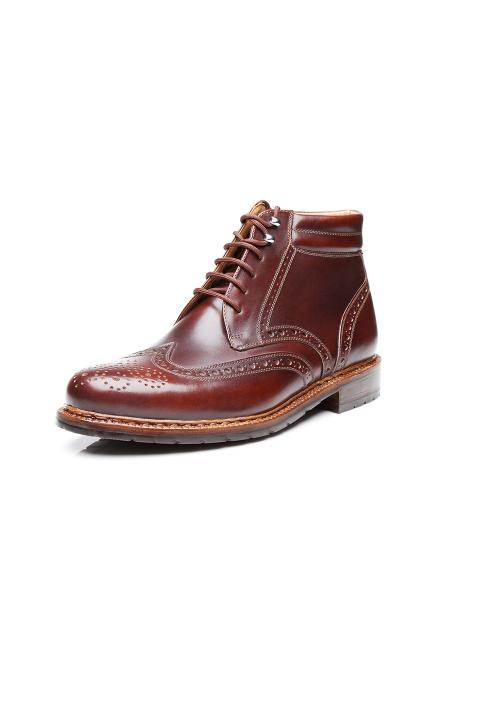 Heinrich Dinkelacker Janosh K Boot darkbrown extra wide