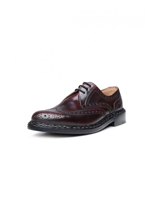 Heinrich Dinkelacker Buda Full Brogue oxblood