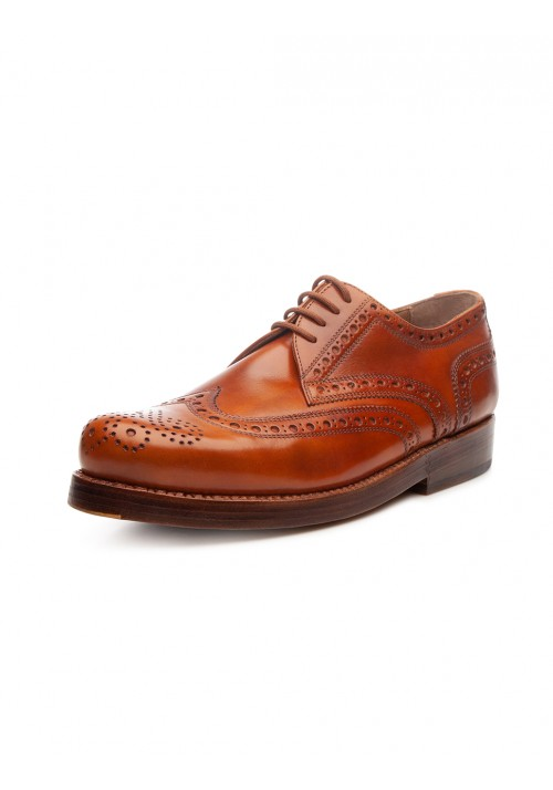 Heinrich Dinkelacker Rio Full Brogue cognac