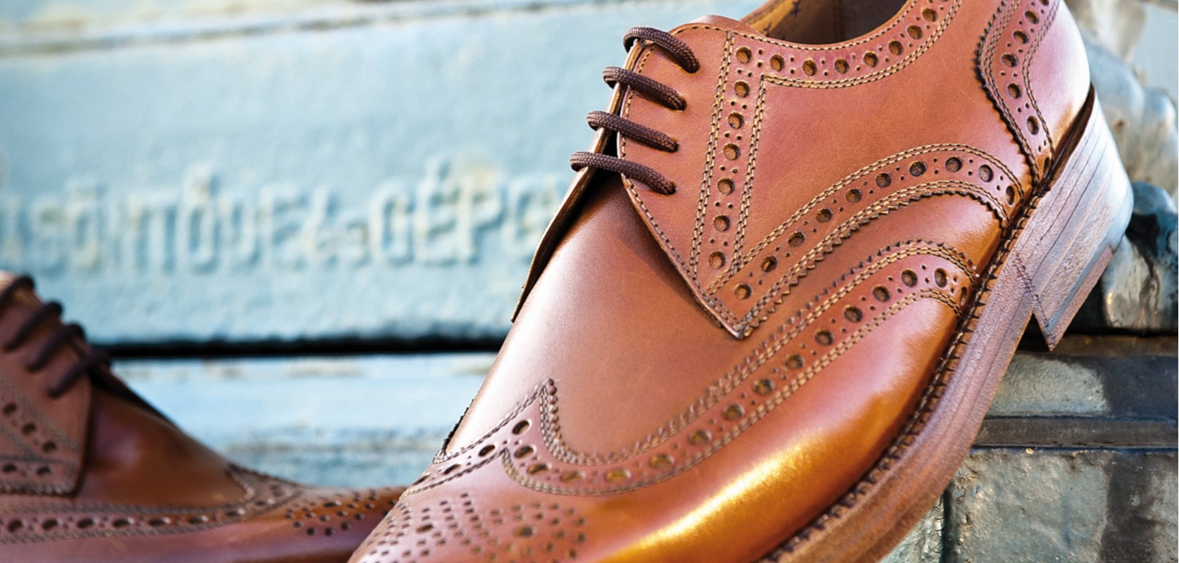 HEINRICH DINKELACKER RIO FULL BROGUE NUT